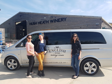 Small Group Private English Wine Tour