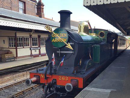 Steam Train English Wine Tour